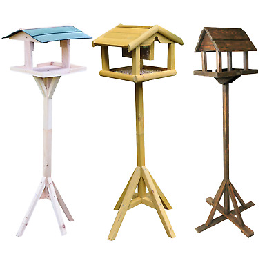 Bird table multi listing choices upright free standing tables tripod bases