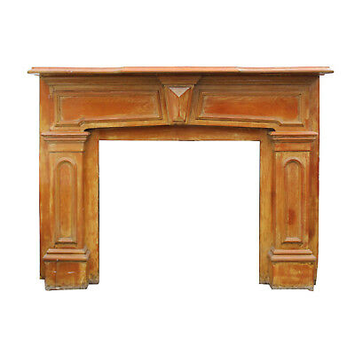 Salvaged Antique Fireplace Mantel, Early 1900s, NFPM172