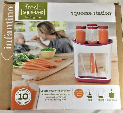 Infantino Squeeze Station Baby Food Storage