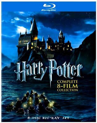 Harry Potter Complete 8-Film Movie Collection Blu-ray DVD Series Set Box 2011