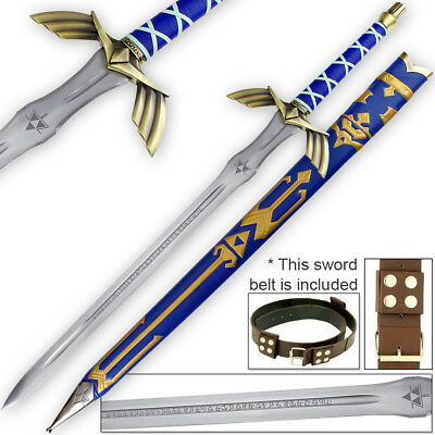Legend of Zelda FULL TANG Master Sword SHARP 1045 Carbon Steel LIMITED EDITION