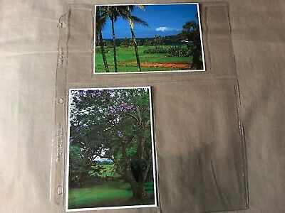 4 Postcards of Maui, Hawaii, 3-uncirculated, 1 posted storage wear, see pictures