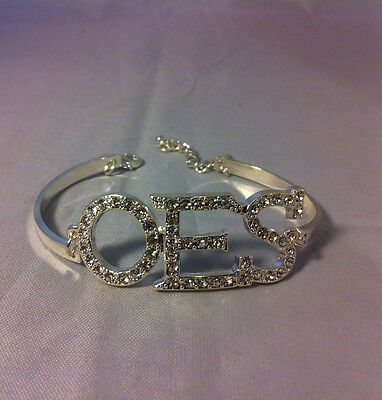 Order of the Eastern Star OES Bracelet-Silver-New!