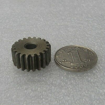 1Pcs 1 Mod 22T Spur Gear Motor Gear 45# Steel Thickness 10mm Outer Dia 24mm