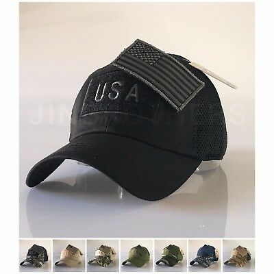USA American Flag Patch Hat Military Tactical Operator Detachable Baseball  Cap 554d69ed171