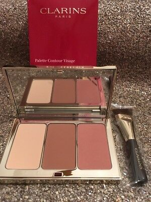 Clarins - Face contouring palette and brush 15g BNWB Authentic