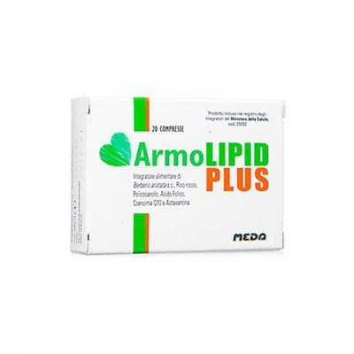 Armolipid Plus 20 Compresse Integratore Colesterolo Alto Offerta 3 Scatole