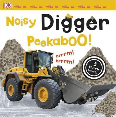 NEW Noisy Digger Peekaboo! By DK Board Book Free Shipping