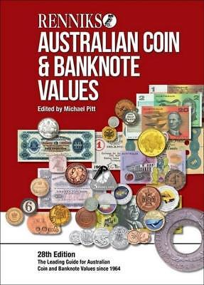 NEW Australian Coin & Banknote Values By Michael Pitt Paperback Free Shipping