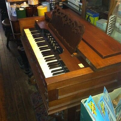 Tewksbury &  Carpenter. Antique Reed/ PUMP Organ -Restored & Playing! Celestial!