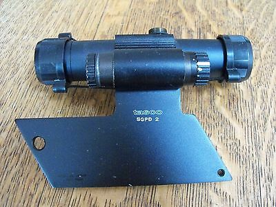 Tasco Red Dot Scope With Sgpd 2 Base Works Perfectly Missing One Adjusting Cap