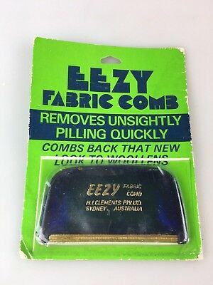Vintage - Eezy Fabric Comb - Made In Australia - With Original Packaging