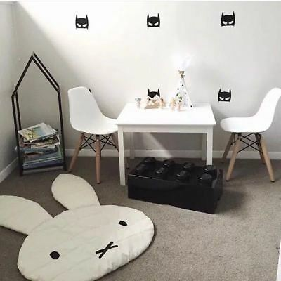 Kids Children Miffy Rabbit Bunny Carpet  Play Mat Floor Rug 106*68CM Home Decor