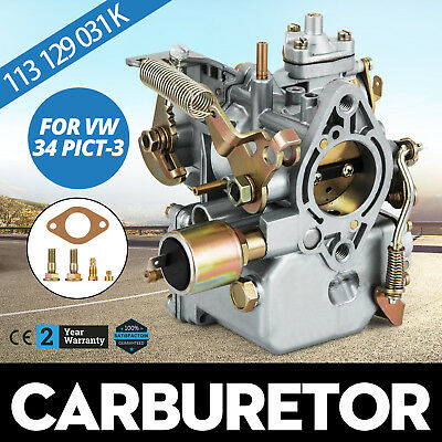 Carburetor for VW Beetle 34 PICT-3 113129031K T1 T2 Bus 1600 Engines Dual Port