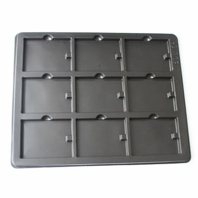 1Pcs PVC Packaging Anti-Static Tray Environmental Friendly Container Box