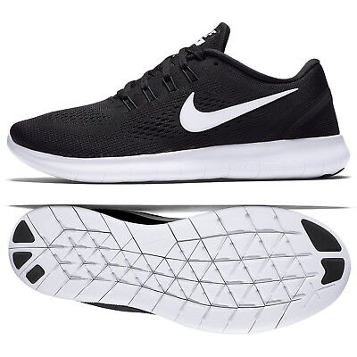 a96b4dfadcc Nike WMNS Free RN 831509-001 Black White Anthracite Women s Running Shoes