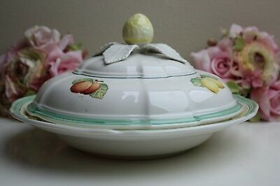 villeroy and boch french garden dessert dish with lid