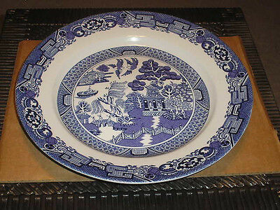 """Blue Willow Royal Cuthbertson 12"""" Serving Plate"""