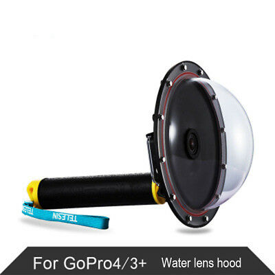 "6"" Dome Port Underwater Diving Camera Lens Cover Accessories  Gopro Hero 3 3+ 4"