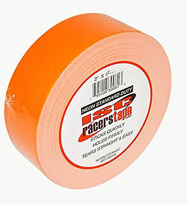Adhésif americain orange fluo - ISC RACERS TAPE ORANGE FLUO - 90ft x 2""