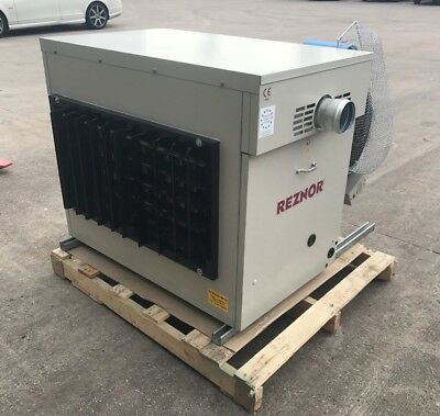 Reznor RPVE 2076 suspended gas heater (76Kw) can be ducted