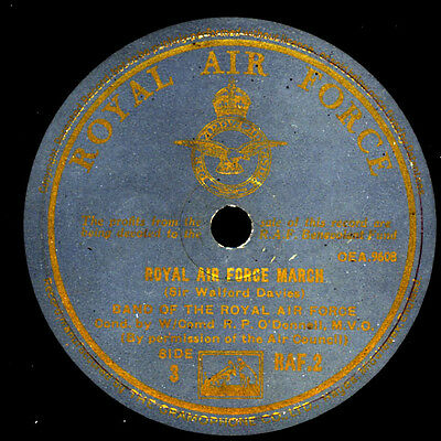 BAND OF THE ROYAL AIR FORCE ;RAF March / General Salute and slow march   S3378
