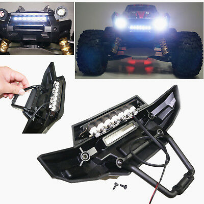 Maxx front bumper led lamp light bar for 15 traxxas x maxx xmaxx rc maxx front bumper led lamp light bar for 15 traxxas x maxx xmaxx aloadofball Image collections