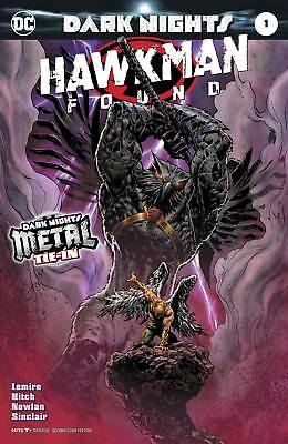 HAWKMAN FOUND #1 Features a foil stamped cover - DC COMICS - ENGLISCH - D662