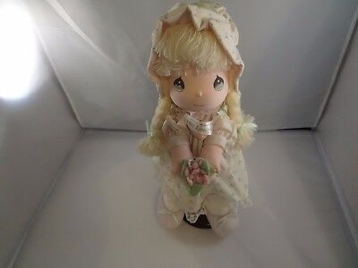 Precious Moments Limited Edition Doll 1991  With Stand