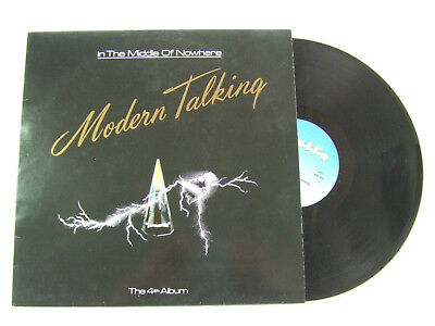 Modern Talking – In The Middle Of Nowhere - The 4th Album  - LP Album 33 Giri