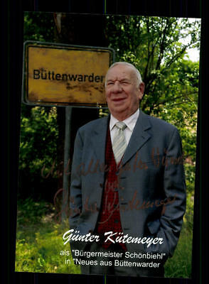 Günter Kütemeyer Foto Original Signiert ## BC 122136