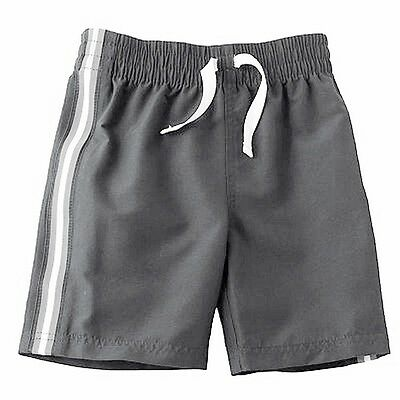 JUMPING BEANS Shorts 24 months Side Stripe Athletic Gray New