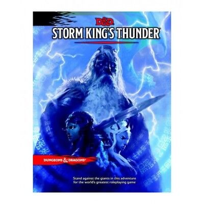 Dungeons & Dragons Rpg Adventure Storm King's Thunder English [1205867]