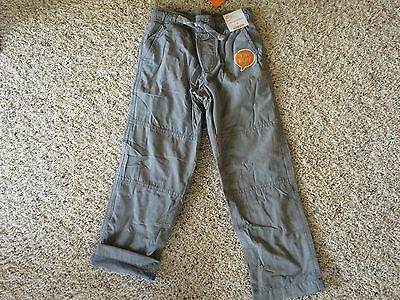 NWT Gymboree Boys Pull on Pants Gray Jersey Lined Gymster Buffalo Lodge ManySize