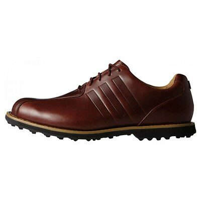 NEW Mens Adidas Adipure Cross Spikeless Golf Shoes F33386 Brown - Pick Your Size