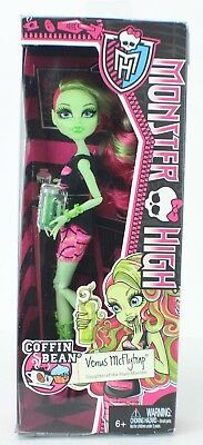Monster High Coffin Bean Venus McFlytrap Doll NEW