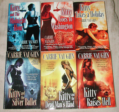 Lot 6 Carrie Vaughn KITTY NORVILLE Takes A Holiday SIGNED Midnight Hour BULLET