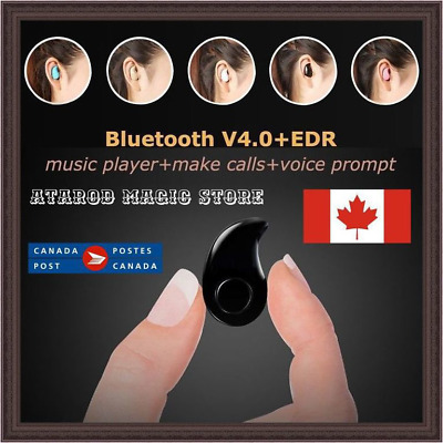 Mini Wireless Sport Bluetooth Headset Earbuds Earphone For Samsung iPhone CF