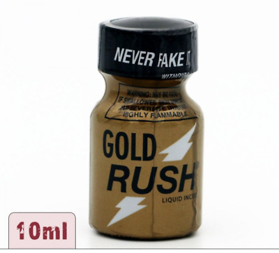 Poppers Gold Rush Pentyl 10ml - STRONG formula