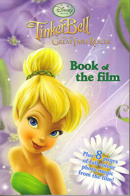 DISNEY FAIRIES - TINKERBELL AND THE GREAT FAIRY RESCUE - 2010 PB - Ex Con