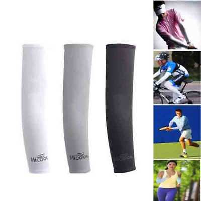 3 Pairs Arm Sleeves UV Cover Sun Protection Cooling Basketball Outdoor Sports