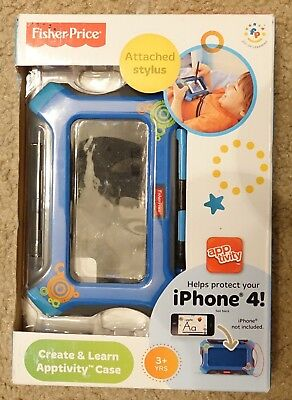 Fisher-Price Create and Learn Apptivity Case for iPod Touch, blue