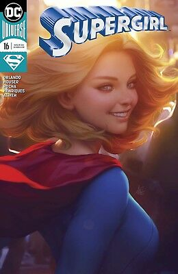 Supergirl Vol 7 #16 Cover B Variant Stanley Artgerm Lau Cover - New Print