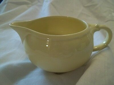 Luray Pastels -  Persian Cream Yellow Creamer - Pitcher Taylor Smith & Taylor