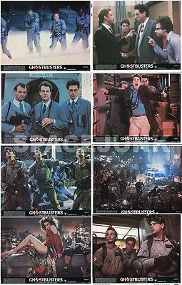 GHOSTBUSTERS Lobby Cards (1984) Complete Set of 8