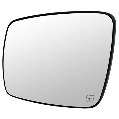 09-16 Dodge Journey Drivers Side View Mirror Glass with Base Heated 68045693AA