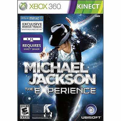 Michael Jackson The Experience - Xbox 360 Kinect Video Game - Ubisoft - New