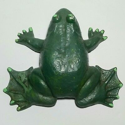 Vintage Cast Iron Frog wilton collection , door stopper great shape great deal.