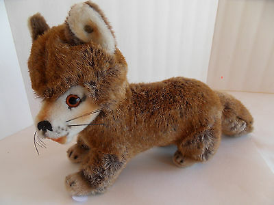 Steiff fox button made in  Germany 1456