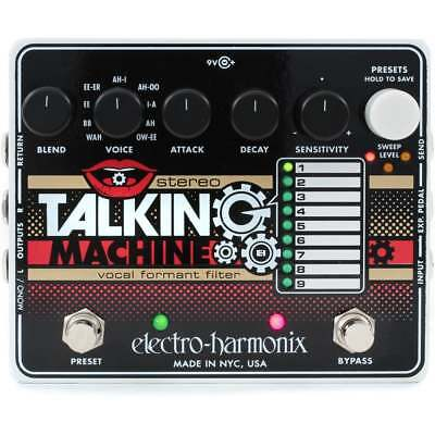 Electro Harmonix EHX Talking Machine Vocal Formant Filter Effect Pedal